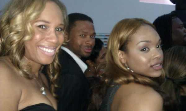 Chanita Foster, Karon Riley & Demetria McKinney at the 'R&B Talent Search'