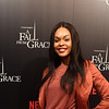 """Demetria McKinney attends Tyler Perry's """"A Fall From Grace"""" VIP Screening at SCAD Show on January 09, 2020 in Atlanta, Georgia."""