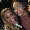 """Latanya Conner and Demetria McKinney attends Tyler Perry's """"A Fall From Grace"""" VIP Screening at SCAD Show on January 09, 2020 in Atlanta, Georgia."""