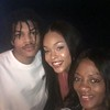 """Daekwon, Demetria McKinney and Melissa attends Tyler Perry's """"A Fall From Grace"""" VIP Screening at SCAD Show on January 09, 2020 in Atlanta, Georgia."""