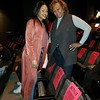 """Demetria McKinney and Janet Montgomery attends Tyler Perry's """"A Fall From Grace"""" VIP Screening at SCAD Show on January 09, 2020 in Atlanta, Georgia."""