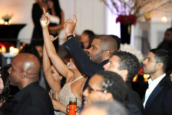 Demetria McKinney & Tyler Perry jamming At Tyler Perry's First Annual Rise Above It celebration at Boulevard3 on March 4, 2011 in Hollywoood