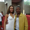 Demetria McKinney and Young Joc attend V103: Cars & Bike Show - July 11, 2009