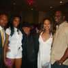 P- Nut, Demetria McKinney and Roger Bobb attend V103: Cars & Bike Show - July 11, 2009
