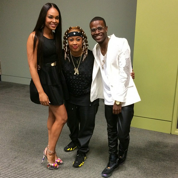 Demetria McKinney, Da Brat and Dallas attend V103's Cars and Bike Show - July 12, 2014 in Atlanta, Georgia.
