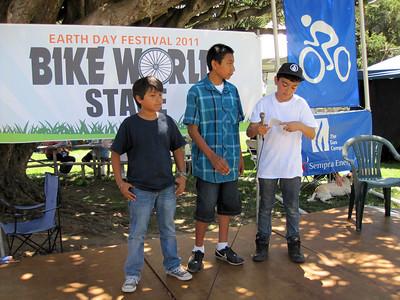 Adams School students (after school biking program)