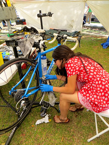 Some bike maintenance for Earth Day