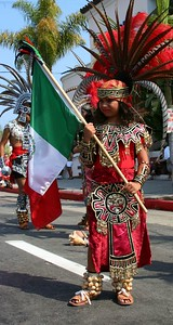 Prouder dancer (Mexican flag) 2005