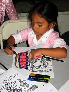 Activities for kids at Casa de la Raza (November 2, 2008)