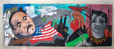 Mural at Casa de la Raza