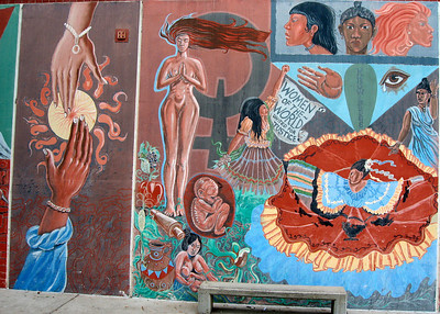 Mural at SB City College