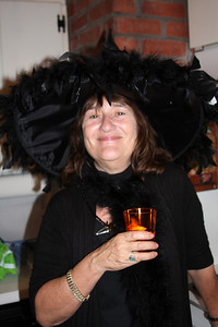Witch Regine (hostess for Halloween party 2010)