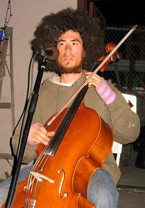 Cello Joe wigs out.  http://www.myspace.com/cellojoe