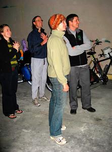 Everybody is enjoying the Ginger Ninjas.  http://www.myspace.com/gingermyninja