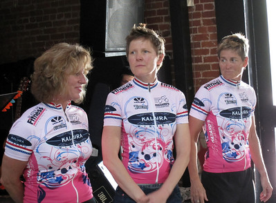 From left to right: Lisa Tonello, Sonia Ross & Jill Gass