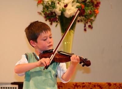 Violin recital (Ella & Owen): May 2007 & Feb 2008