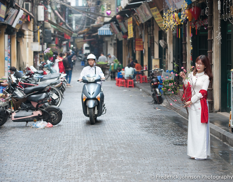 Back streets of Hanoi, Vietnam