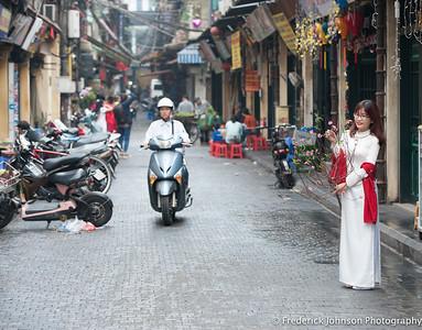 Back streets of Hanoi, Vietnam