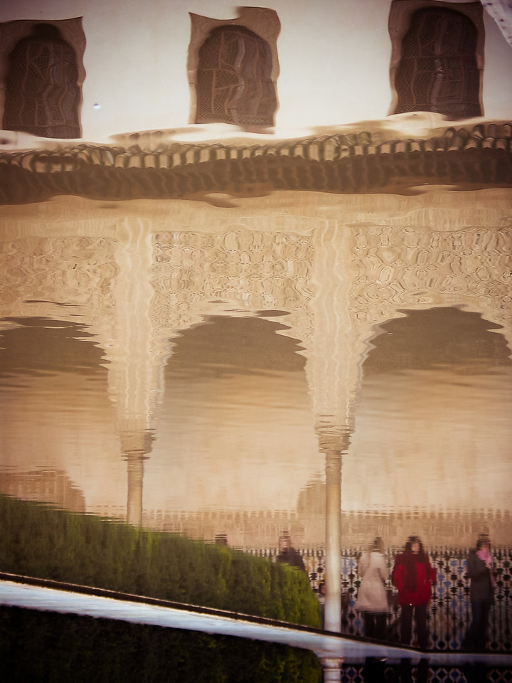 Alhambra - Granada, Spain, December 2002 (processed and added in 2010)