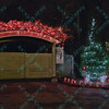 The Children's zoo at the St. Louis Zoo is decorated in lights for the Wildlights holiday celebration.