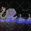 A swan family welcomes visitors to celebrate the season, the St. Louis Zoo lights up different areas of the zoo giving visitors a chance to enjoy wonderful lighted displays with an animal theme.