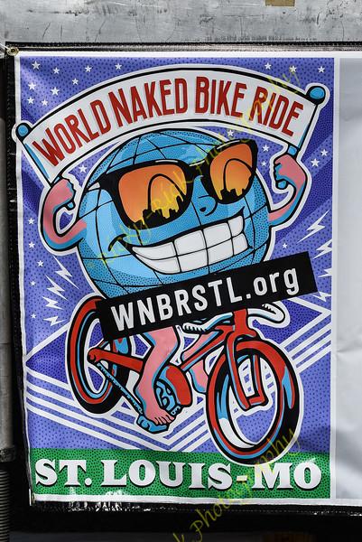 2018 - World Naked Bike Ride - St. Louis