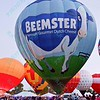 The Beemster Hot air balloons light up the night sky in the popular event held at Forest Park in St. Louis, MO on 9/19/14