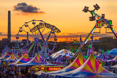 "Our Mighty Midway - this year's donation to the Minnesota State Fair Foundation's ""Taste Of The Fair"" fundraiser."