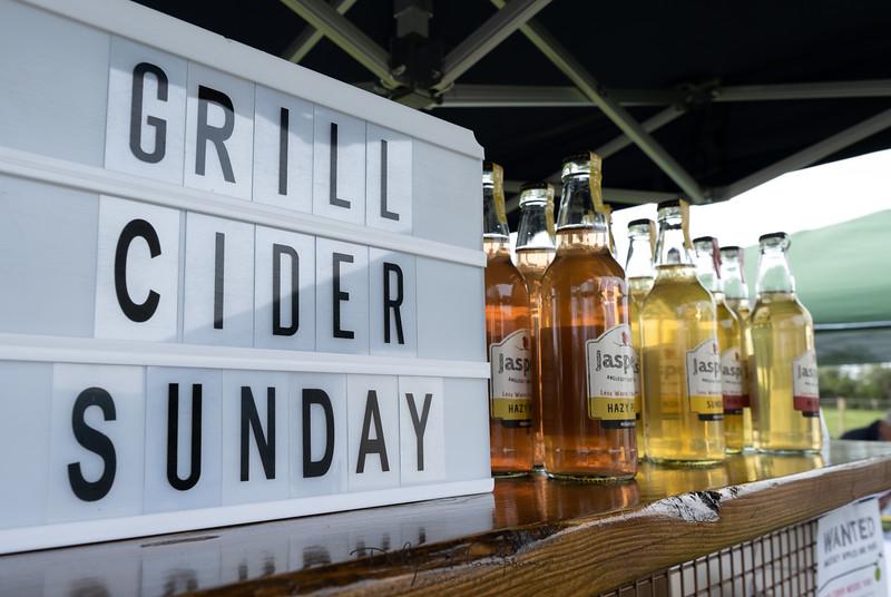 Grill Cider Sunday   27 April 2019