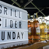 Grill Cider Sunday   27 April 2019