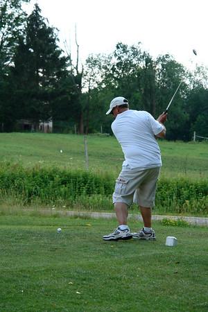 Gary & Tessa Golfing in Chautauqua 7-15-06
