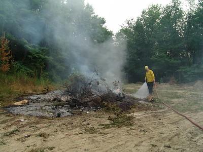 Brush Fire Cemetery 8-8-05