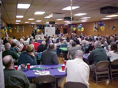Fire Hall Points Dinner 2003