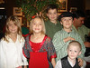 My nieces, Gabrielle and Melaina, Ethan, my nephew Sam and Quinn