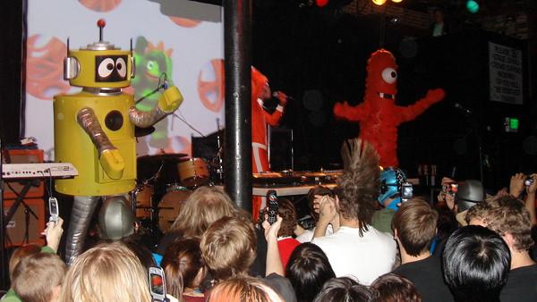 The Aquabats and DJ Lance Rock