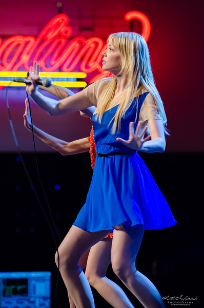Garfunkel and Oates perform to a packed house in the Musikfest Cafe during Oktoberfest 2012 in Bethlehem, PA