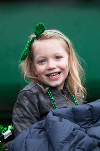 My new favorite photo of Zoe, at the parade.