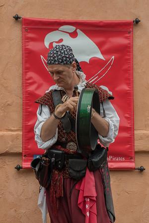Crimson Pirates at Colorado Renaissance Festival