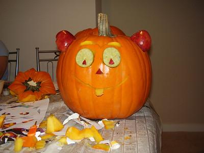 Deepti's funky pumpkin