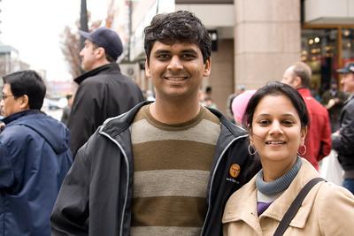 Vikram and Sandhya