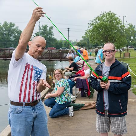 2013 Hendersonville Kids Fishing Rodeo - Special Needs Kids - June 7, 2013