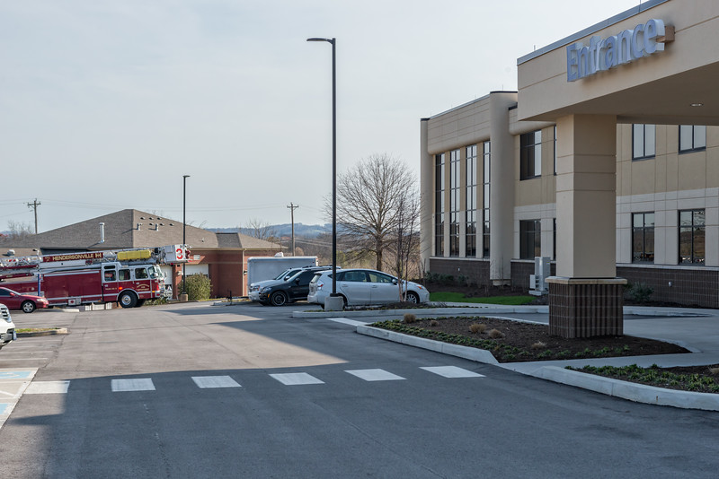 Hendersonville Hospital Bomb Threat/Lockdown - March 20, 2017