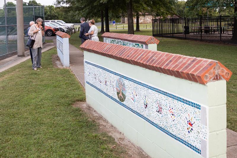 Hendersonville Mosaic Art Wall Dedication - September 13, 2018