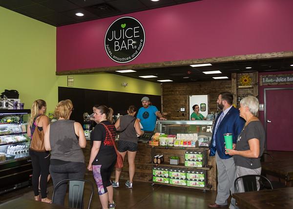 Hendersonville Juice Bar Ribbon Cutting - June 23, 2017