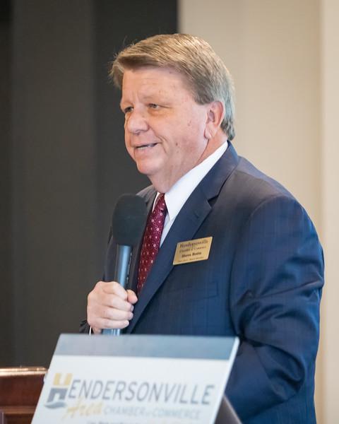 Hendersonville Chamber Meeting - Charles Hagood - January 8, 2019