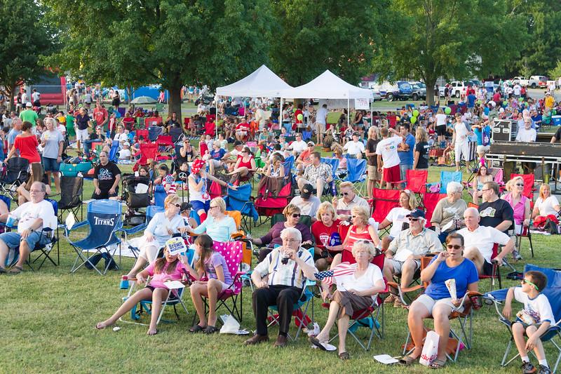 Hendersonville Freedom Festival - July 3, 2012