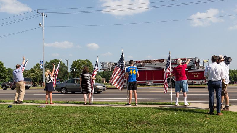 Hendersonville Loves the American Flag Unity Rally - June 25, 2015