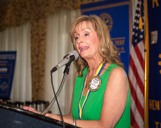 2017 Hendersonville Rotary Club Awards and Installation Banquet - June 29, 2017