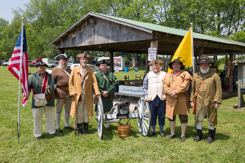 Bledsoe's Fort Colonial Days - May 6, 2017