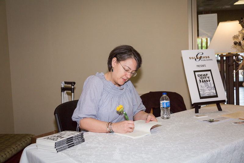 Poppy Steele Book Signing - Gallatin Library - April 1, 2017